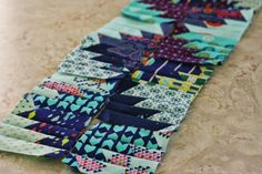 Blue Elephant Stitches: Making a Scrappy Mexico Quilt {and a notice if you bought the pattern before March 12, 2015}