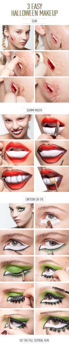 DIY : tutoriel maquillage Halloween