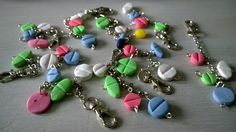 FIMO pills - key chains
