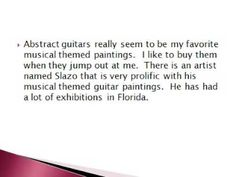 Musical Themed Paintings