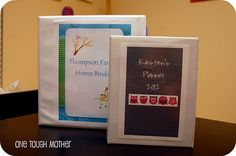 My family binder was a hit... I just made a mini! Purse-size DIY personal binder on the blog!  Www.onetoughmom.blogspot.com