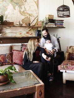 Dion Antony, Anna Feller and Family — Boho house – The Design Files