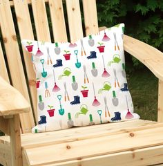 Mary, Mary Outdoor Throw Pillow