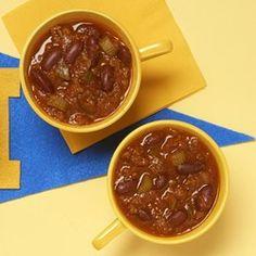 Flatlander Chili: add 1/2 tsp of cayenne & 1/4 cup corn meal
