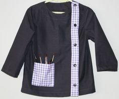 La blouse d'écolier - le tuto - Les épingles de Poupette