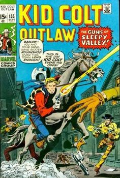 Kid Colt. Cover by Herb Trimpe.