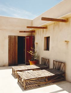 Paradise is: Eugenia Silva's home in Formentera, the smallest of the four main Balearic Islands. The colorful textures, the natural, native elements and nearly primitive vibe makes her Spanish retreat idyllically laid back and absolutely sublime.