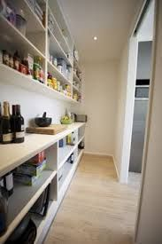 Butlers pantry to fit in either L shape or straightline kitchen. Build the recessed wall into existing area