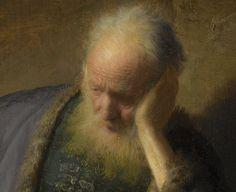 Rembrandt van Rijn -  Detail of Jeremiah lamenting the destruction of Jerusalem 1630
