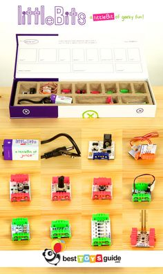 littleBits Magnetic Electronic Modules. One of the best toys of 2012!
