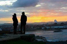 Sunset in Gijón, #Spain