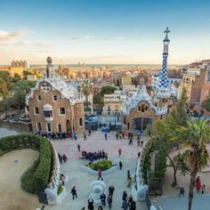 Parc Guell Entrance Barcelona, Spain Travel Photography | Travel | Nutrition Stripped #nutritionstripped #travelphotography #travel #traveltheworld