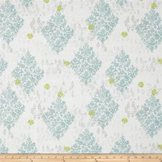 Lacefield Sedona Slub Mineral from @fabricdotcom  Screen printed on cotton duck; this versatile medium weight fabric is perfect for window treatments (draperies, valances, curtains and swags), accent pillows, duvet covers and upholstery. Colors include grey, honeydew, mineral and white.