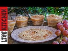 YouTube Egg Free Desserts, Greek Recipes, Kitchen Living, Camembert Cheese, Dairy, Pudding, Sweet, Youtube, Food