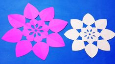 How to make easy simple paper cutting flower easy paper cutting paper cutting decoration how to simple paper cutting flowers designsflower out of paper mightylinksfo