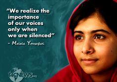 Malala Yousafzai Quotes Malala Yousafzai  Googlesøgning  Personer Jeg Beundrer  People I .