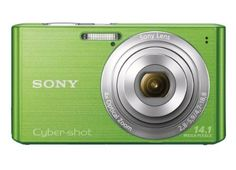 Sony Cyber-shot DSC-W610 14.1 MP Digital Camera with 4x Optical Zoom and 2.7-Inch LCD (Green) (2012 Model) with Mini Tool Box (Fs) by Sony. $248.00. The Sony DSC-W610/B Cyber-shot W610 Digital Camera allows you to capture candid and artful scenes in exceptional picture quality using its 14.1 Megapixel Super HADTM CCD Image Sensor. This awesome camera has a wealth of features including Smile ShutterTM technology that catches smiles, Sweep Panorama / Sweep Panorama (360) feature ...