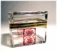 . Bohemia Crystal, Crystal Box, Glass Boxes, Clear Glass, Container, Crystals, Crystal, Crystals Minerals