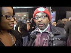 Spike Lee & George Lucas discuss Red Tails NYC Premier Red Carpet. Flashback 2012!!