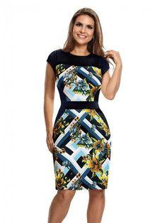 5b0f26c90e Tubinho Médio - Compre Vestidos com Recortes que Emagrecem