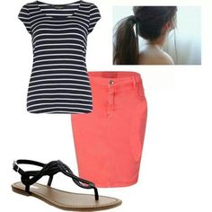 Outfit casual pentecostal girl