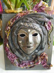 powertex, masque Vénitien