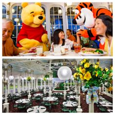 Inspired by Victorian greenhouses of the late 1800s, The Crystal Palace at Magic Kingdom Park brims with light, topiaries and tropical palms – and is an enchanting spot to dine with Winnie the Pooh and a few of his Pals!