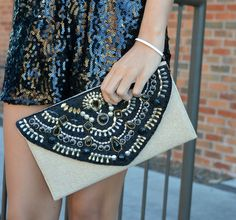 The Perfect Clutch For All Of Your Holiday Parties!   Meet Me @ The Met Clutch