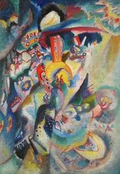 Wassily Kandinsky Moskau II (Moscow II), 1916 oil on canvas Private collection Art Kandinsky, Wassily Kandinsky Paintings, Henri Matisse, Abstract Words, Abstract Art, Abstract Landscape, Franz Marc, Art Moderne, Art Abstrait