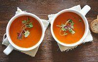 Home Made Delicious Cream Of Tomato Soup - VitaClay® Chef Cream Of Tomato Soup, Soup Bowls With Handles, Tomato Soup Recipes, Winter Soups, Vegetarian Soup, Lentil Soup, Keto Recipes, Crockpot Recipes, Healthy Recipes