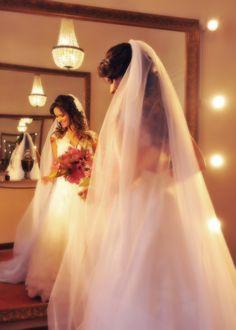 Noivas com véu