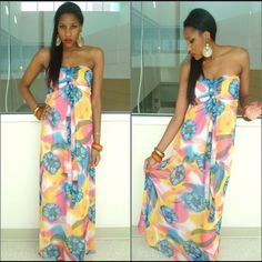 Pastel tone Floral Maxi Dress Long floral maxi dress with pastel colors that pop! Chiffon/polyester material. Lined and light. Ruched elastic bust for adjustable fitting. Excellent condition. Not from listed brand. Tagged for exposure Zara Dresses Maxi