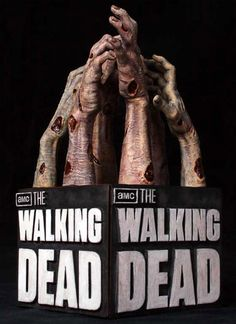 [GENTLE GIANT] The Walking Dead: Logo Bookends