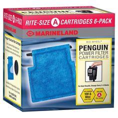 Marineland Rite-Size Cartridge A 6 Pack Aquarium Filter Cartridges #Marineland