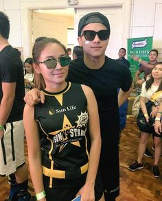 This is the pretty Kathryn Bernardo and the handsome Daniel Padilla smiling for the camera during while getting ready for the 2016 Star Magic Games at the Celebrity Sports Plaza in Quezon City last May Child Actresses, Child Actors, Inigo Pascual, Daniel Johns, Enrique Gil, Daniel Padilla, Star Magic, John Ford, Liza Soberano