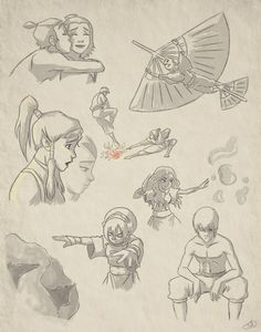 Avatar: The Last Airbender Drawings