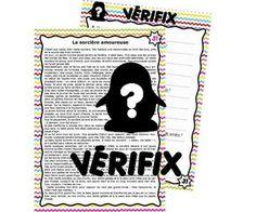 fichier VERIFIX Compréhension de textes courts