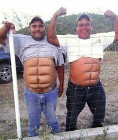 OMG! A home made 6 pack! #weird