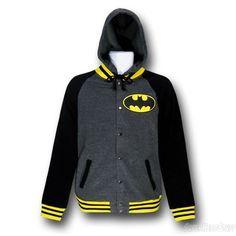 superhero hoodies for men | ... batman sweatshirts hoodies batman varsity button up hoodie sold out