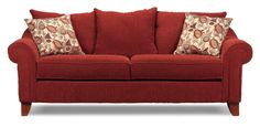 This is the couch we are getting from Rothman Furniture with the matching loveseat. Sofa Bed, Couch, Dark Grey Walls, Sofa Upholstery, Living Room Furniture, Sofas, Love Seat, Sweet Home, Home Decor