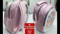 Aula em vídeo da bolsa mochila de tecido Nathanny. Fabric backpack tutorial. Make a fabric backpack