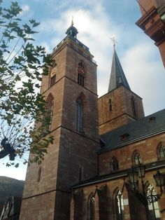 Stiftskirche  Oma's church! cant wait to go there!