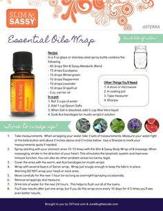 Get Skinny with doTERRA essential oils Body Wrap: