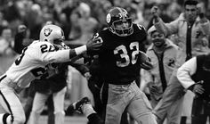 """The """"Immaculate Reception"""" - Franco Harris, 1972."""