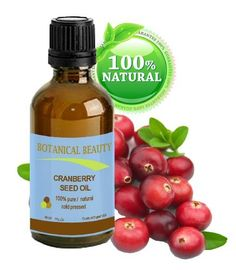 CRANBERRY SEED OIL 100% Pure / Natural. Cold Pressed / Undiluted. For Face, Hair and Body. 1 Fl.oz.- 30 ml. by Botanical Beauty by Botanical Beauty. $12.95. Effectively moisturize and improve skin elasticity, reduces wrinkles, dryness and skin lines. It is regenerating skin cells. Cranberry Seed Oil is also the perfect choice for all of your bath, body, skin, and baby care, products where it offers excellent skin protection and will also help to stabilize, and improve...