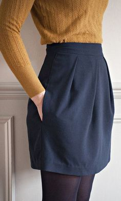 Le motif jupe tulipe - Coudre dessus - Disponible dans la ligne de pli #coudre #dessus #disponible #ligne #motif #tulipe
