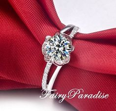 Awesome 300+ Flower Rose Diamond Engagement Ring Inspirations