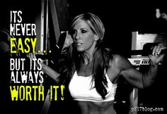 I tell myself this every workout @Bonnie Pfiester #fitfluential