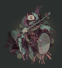 Witchsona, Eli Baum on ArtStation at https://www.artstation.com/artwork/KP00r