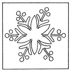 Snowflake Ii - Rug Pattern On Linen - X The & schneeflocke ii - teppichmuster auf leinen - x the & & Pink rug; Punch Needle Patterns, Stitch Patterns, Rug Hooking Patterns, Rug Patterns, Paper Patterns, Christmas Rugs, Xmas, Simple Snowflake, Rug Inspiration